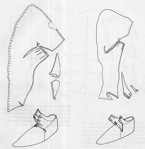 Как сшить средневековые ботинки 71
